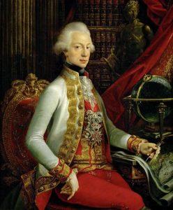 Battaglia di Procchio - Immagine di Ferdinando III d'Asburgo-Lorena Granduca di Toscana In carica 1790-1801 e 1814-1824