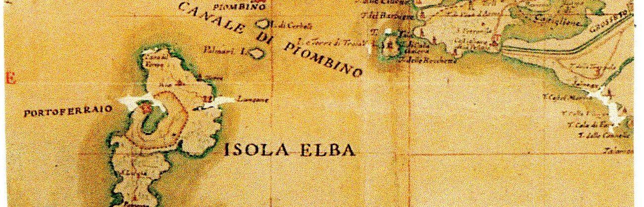 Il centro dell'Isola d'Elba